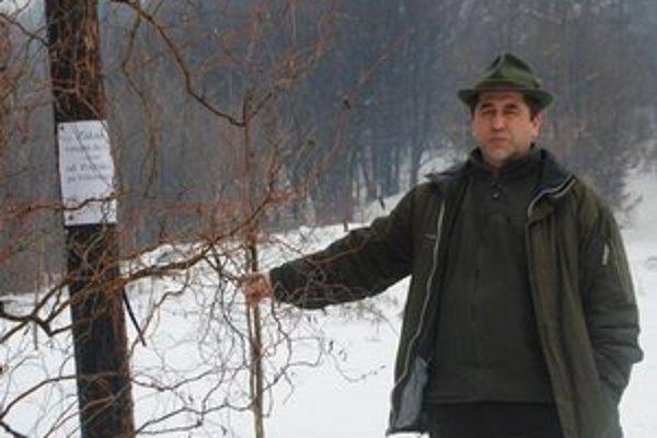 B. Hudáček. Riaditeľ Lesov mesta Rožňava.