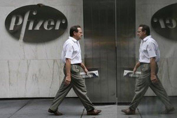 Známa farmaceutická firma Pfizer dala vlani  za propagáciu  u nás takmer 2,5 milióna eur.