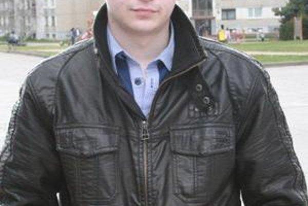 Tretí. Lukáš Sasák reprezentoval strednú priemyselnú školu stavebnú.