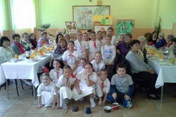 Stretnutie sa uskutočnilo v základnej škole v Diviakoch nad Nitricou.
