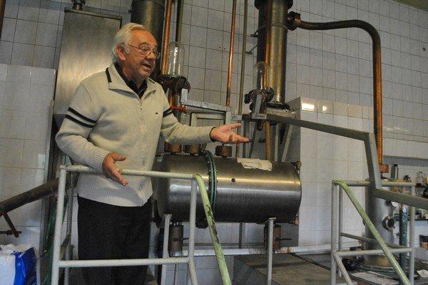 Pavel Lechman. Organizátor súťažnej výstavy destilátov.