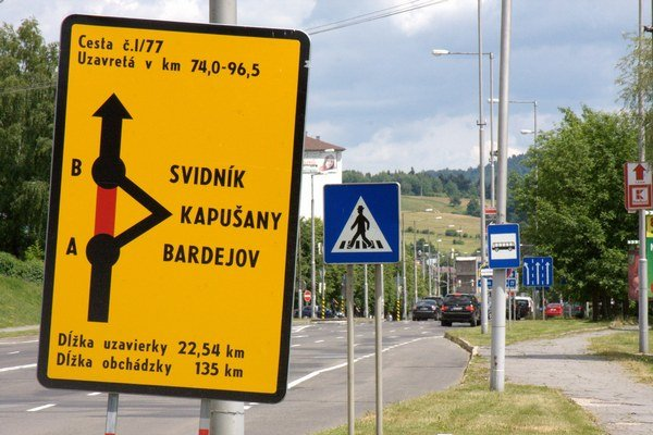 Najdlhšia slovenská obchádzka ohrozuje podnikateľov obchodujúcich s Poľskom.