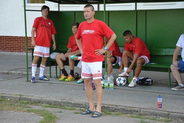 Ľubomír Horochonič verí, že jeho tím sa bude zlepšovať.