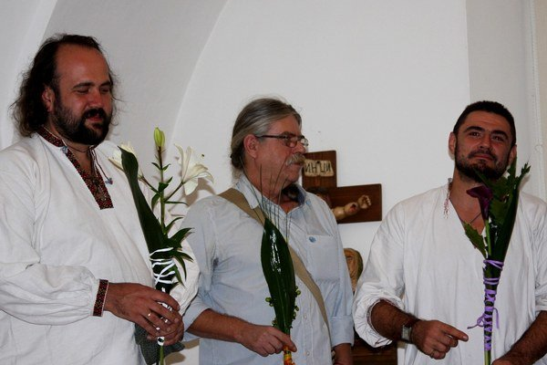 Prešovčan Ján Krlička a dvaja Ukrajinci - Roman Zilinko a Ostap Lozynsky – predstavili Bardejovčanom svoje umenie a vieru.