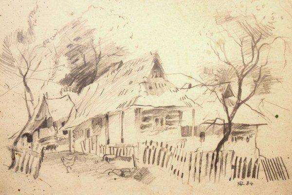 Tvorba Nadeždy Ždiňákovej, zo zbierky Ľuboša Olejníka
