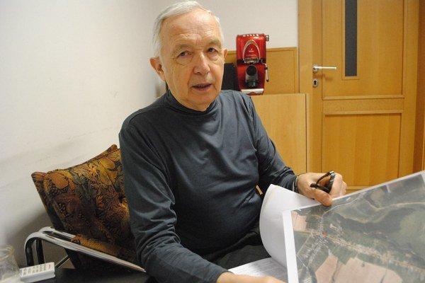 Michal Kopina. Poukázal na problémy v Chotči.