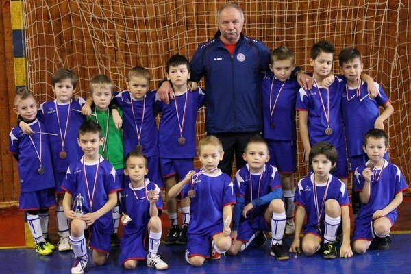 Najmladší futbalisti. Bardejov obsadil tretiu priečku.
