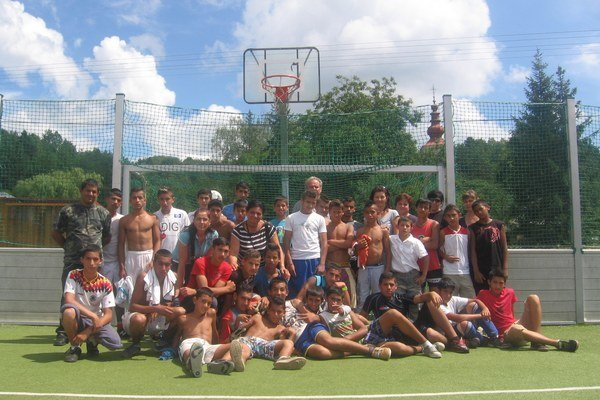 Účastníci turnaja vo Sveržove.