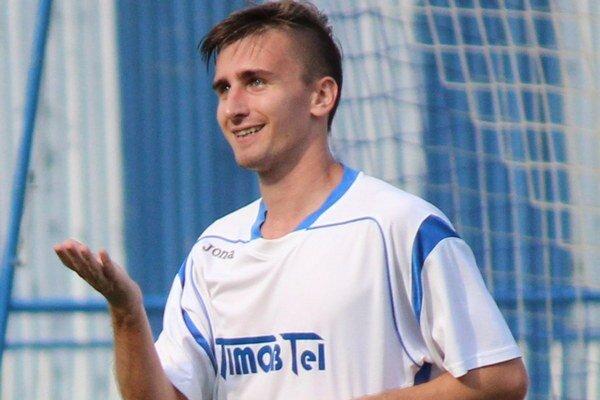 Strelec druhé gólu Stropkova Peter Poľák.