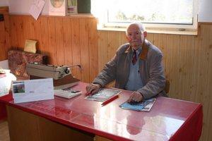 Andrej Marčišin. 77–ročný starosta sa chce vzdať.