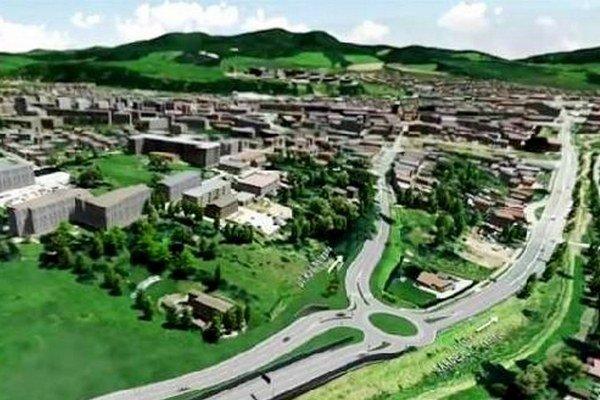Obchvat bude dlhý 5,3 kilometra. Vybuduje sa aj šesť mostných objektov.