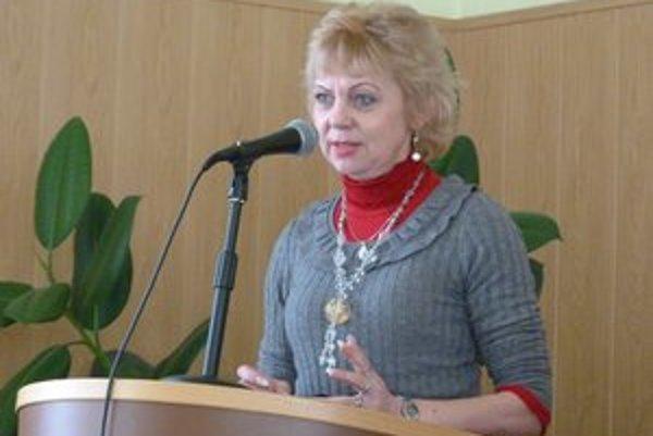Riaditeľka Materskej školy Ľ. Štúra Nataša Šepitková. Svidnícke riaditeľky materských škôl sa v súvislosti s odovzdaním právnej subjektivity obávajú vysokých prevádzkových nákladov aj zlého stavu budov.