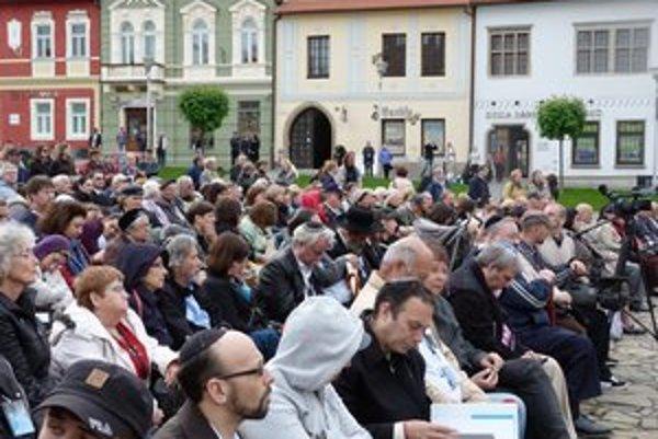 Spomienkové stretnutie k pamiatke 70. výročia deportácií bardejovských židov. Rok 1942 bol počiatkom zániku miestnej židovskej komunity.