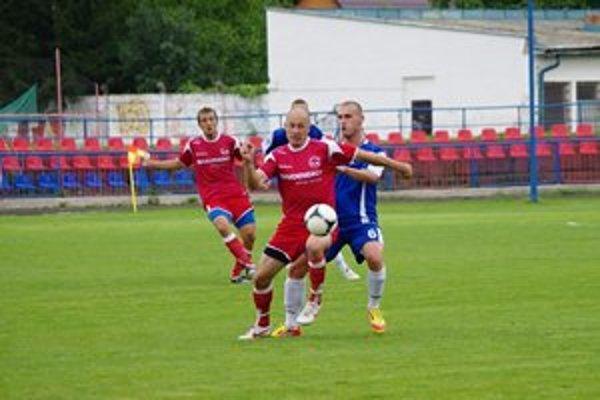 M. Seman neskóroval. Svoju šancu tentoraz nevyužil, gól na Orave nedali ani jeho spoluhráči.