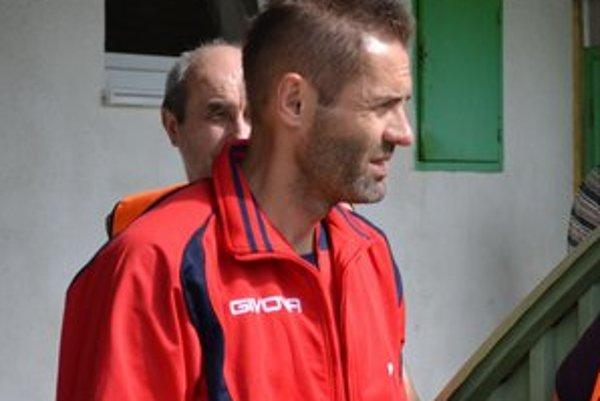 Ľubomír Reiter. Tréner žije tiež v neistote, čo bude so stropkovským futbalom.