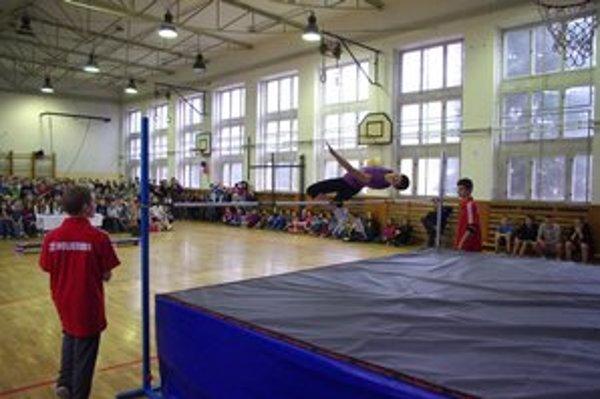 Radka Jankuvová vyhrala skokom cez 143 cm.