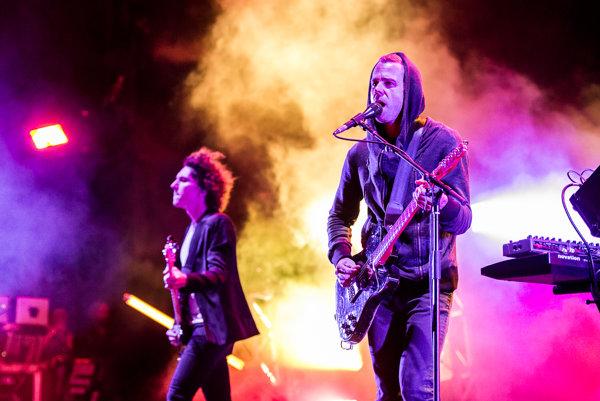 Francúzsky hudobník M83 predviedol v Ostrave úchvatnú šou.