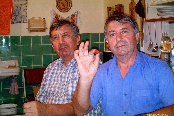 Vladimír Šuťak (vpravo) s bratom.
