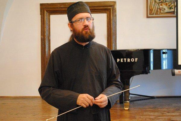 Peter Soroka. Uvedomuje si, aké je propagácia jedinečnej krypty dôležitá. Nedávno o nej hovoril na historickom seminári v humenskom kaštieli.