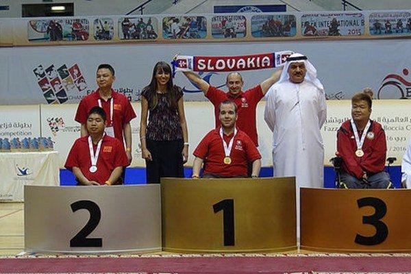 Víťazný Samo na turnaji vDubaji. Slovensko bude reprezentovať aj vseptembri vBrazílii.