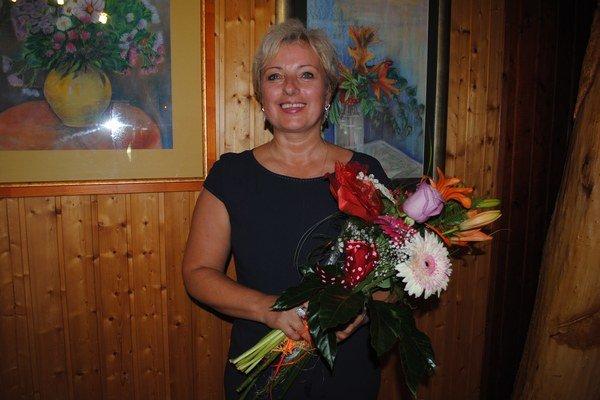 Anna Berezňaková miluje maľovanie na hodváb.