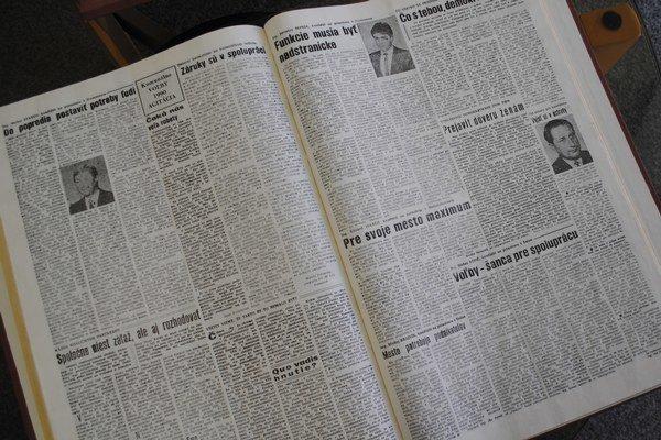 """Predvolebná kampaň v roku 1990. V novinách bola """"nezáživná""""."""