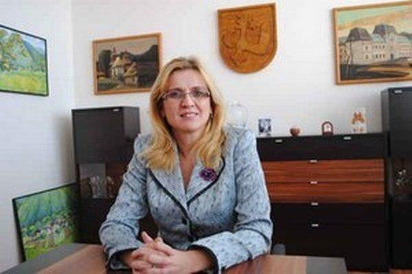 Humenská primátorka.