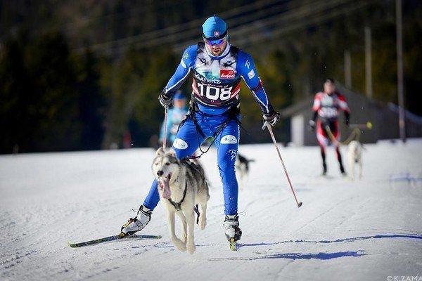Šampióni. Igor Štefan a pes Puňťo.