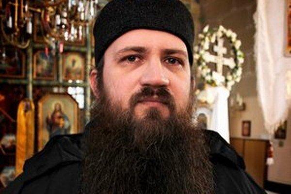 Peter Soroka, správca Pravoslávnej cirkvi v obciach Osadné a Hostovice v miestnom chráme v Osadnom.