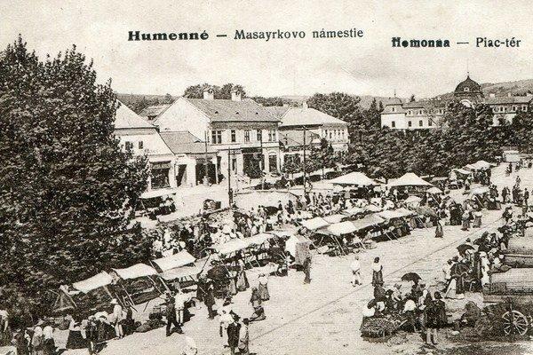 Jarmok v Humennom.