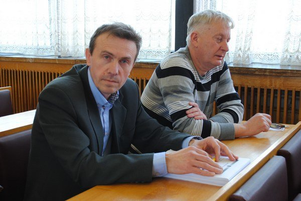 Vladimír Kokuľa (vľavo).