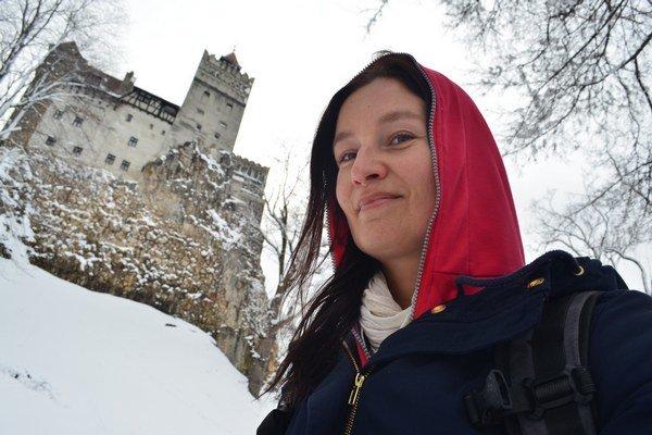 Pod Drakulovým hradom v Rumunsku.