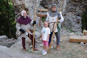 Rytieri sa na Brekovskom hrade prvýkrát predstavili pred dvoma rokmi.