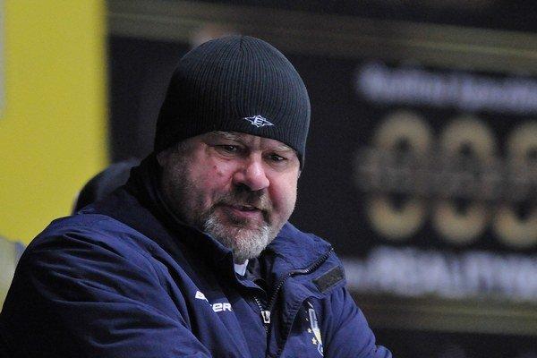Tréner Peter Křemen.