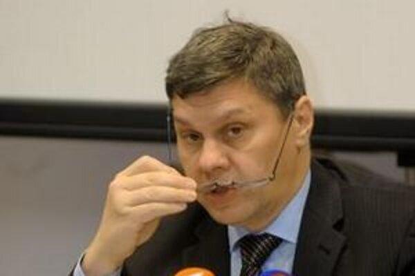 Generálny riaditeľ Ústredia práce, sociálnych vecí a rodiny Ivan Juráš. Foto - TASR