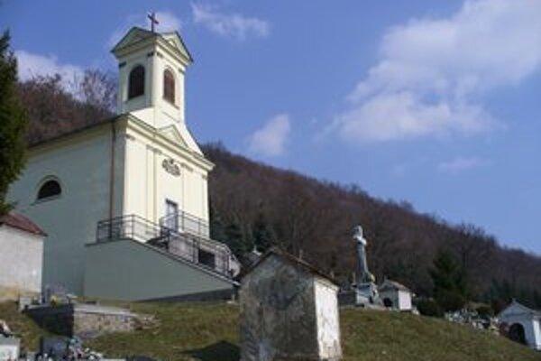 Kalvária v Snine. Je najvýchodnejšie postavená kalvária na Slovensku.