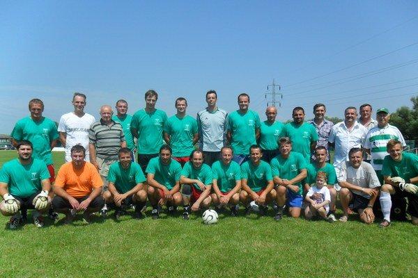 Bývalý Spartak Brekov. Futbalisti, tréneri i funkcionári...