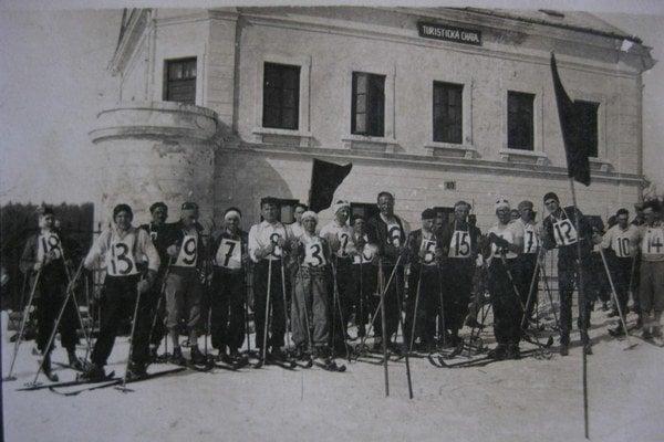 Chata Palota. Takto vyzerala chata v rokoch 1934 – 1938.