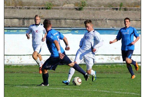 Dávid Legdan. Dvoma gólmi zariadil humenské víťazstvo.