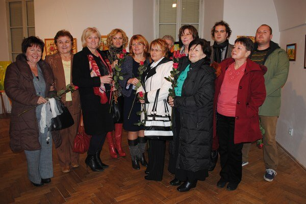 Autori. Na 1. Humenskom výtvarnom salóne sa predstavuje sedemnásť autorov.