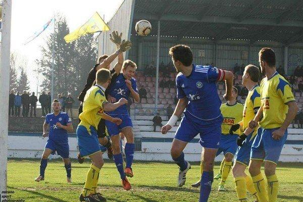 Vydarený vstup. ŠK Futura Humenné je doma jarne gólovo úspešná.