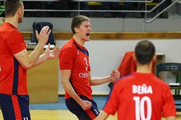 Mikolaj Sarnecki. Najlepší volejbalista slovenskej extraligy 2013/2014.