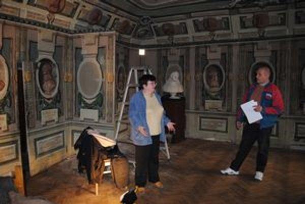 Náročná práca, Reštaurátorské práce odhadujú Ivana Strakošová a Ľubomír Cáp na  štyri až päť rokov.