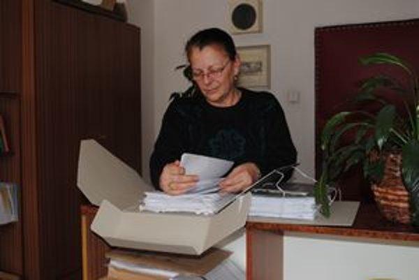 Mária Doničová. Za dlhé roky práce sa stretla so všeličím.