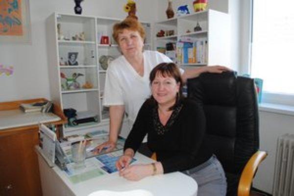 Lekárka a zdravotná sestra. Edita Olšová a Božena Viravcová tvoria tandem už niekoľko rokov.