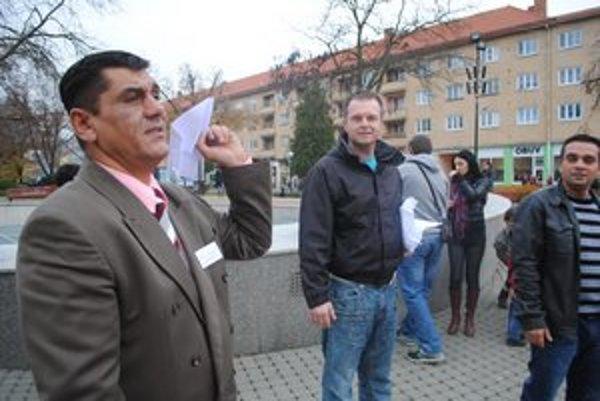 Zoltán Kašo v Humennom inicioval stretnutie na vyjadrenie podpory Ivane Boórovej.