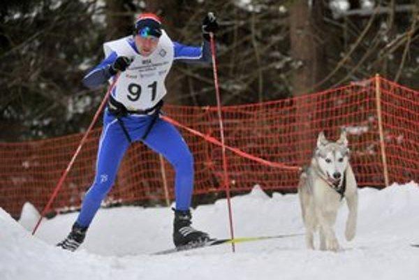 Šampióni sveta i Európy. Igor Štefan a jeho pes Puňťo.