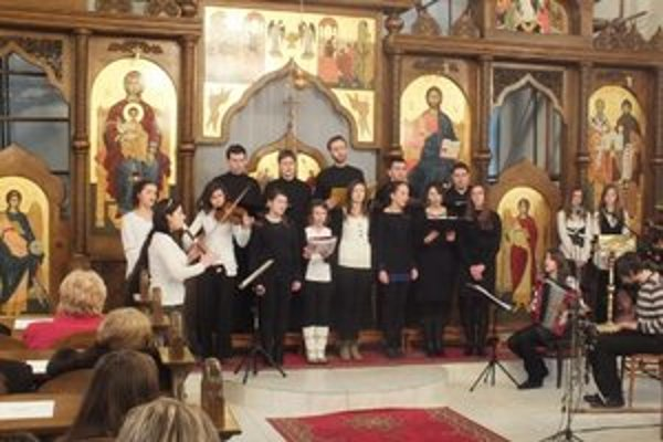 Ekumenický koncert. Tradičný koncert usporiadala Pravoslávna cirkevná obec v Humennom na Štefana 26. decembra.