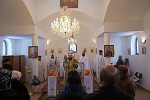Slávnostná liturgia v Osadnom.