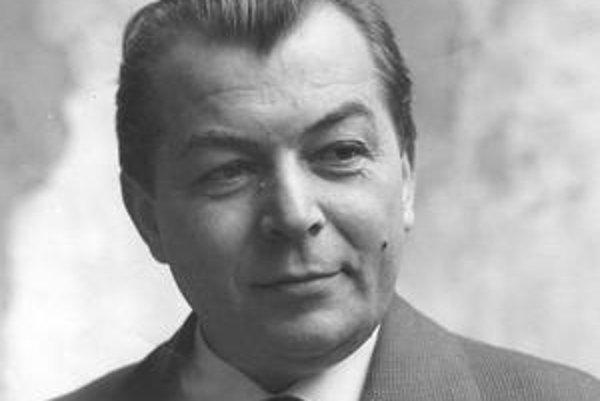 Slávny dramatik Ladislav Grosman.